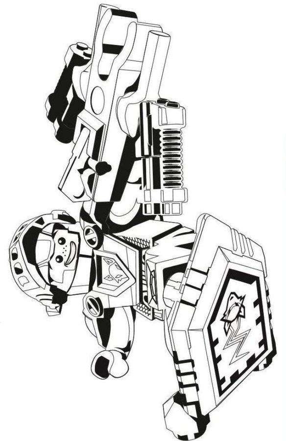 Ausmalbild Nexo Knights Genial Ausmalbilder Ausmalbilder Lego Nexo Knights Zum Ausdrucken Bild