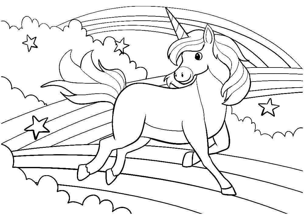 Ausmalbilder Einhorn Kostenlos Genial Ausmalbilder Einhorn Mit Regenbogen Ideen Wunderbare Kostenlose Das Bild