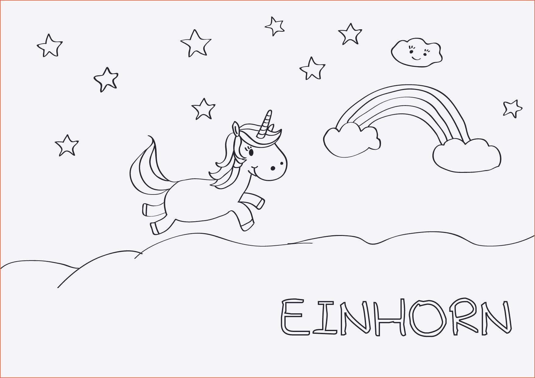 Ausmalbilder Einhorn Kostenlos Inspirierend Ausmalbilder Einhorn Fotografieren