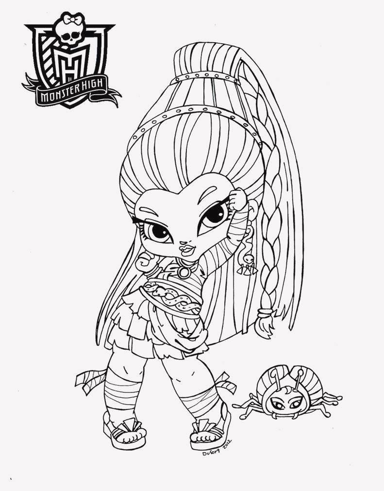 Ausmalbilder Monster High Frisch 25 Liebenswert Ausmalbilder Monster High Bilder