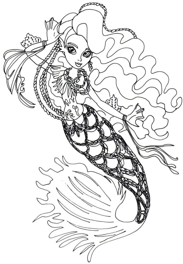Ausmalbilder Monster High Frisch Monster High Coloring Page Unique High Freaky Fouchon Coloring Pages Sammlung