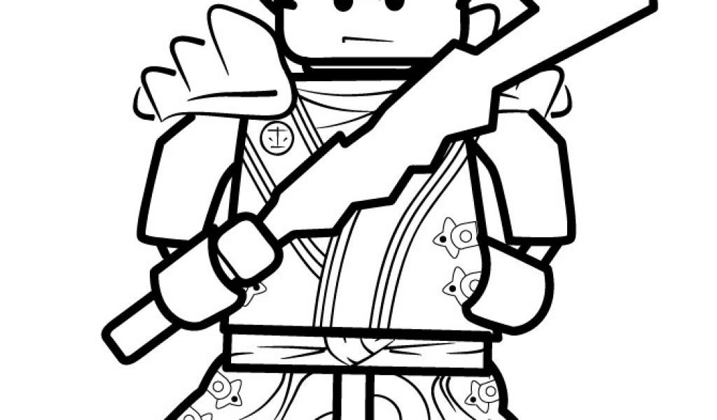 Lego Ninjago Clipart Black And White