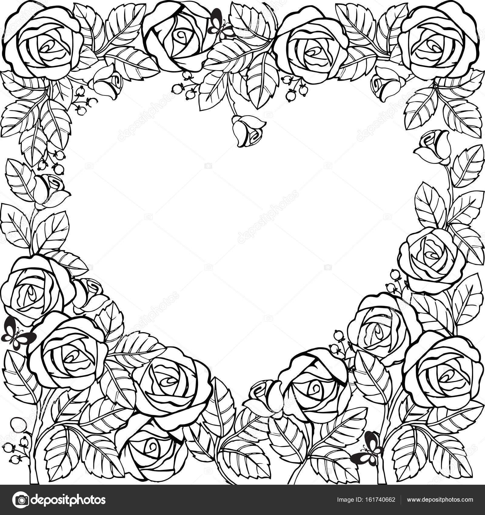 Ausmalbilder Rosen Mit Herz Frisch Ausmalbilder Rosen Mit Herz Best 40 Ausmalbilder Herzen Und Rosen Das Bild