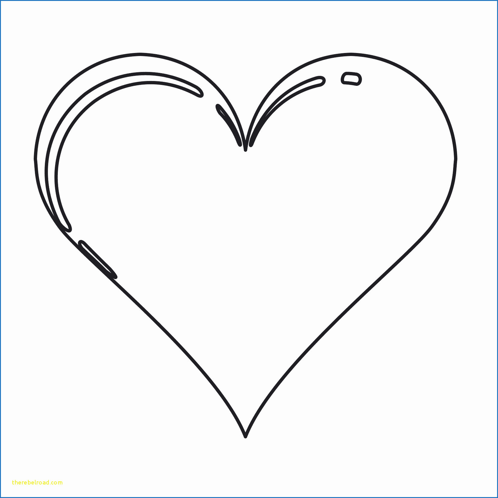 Ausmalbilder Rosen Mit Herz Neu Herz Malvorlage Das Bild