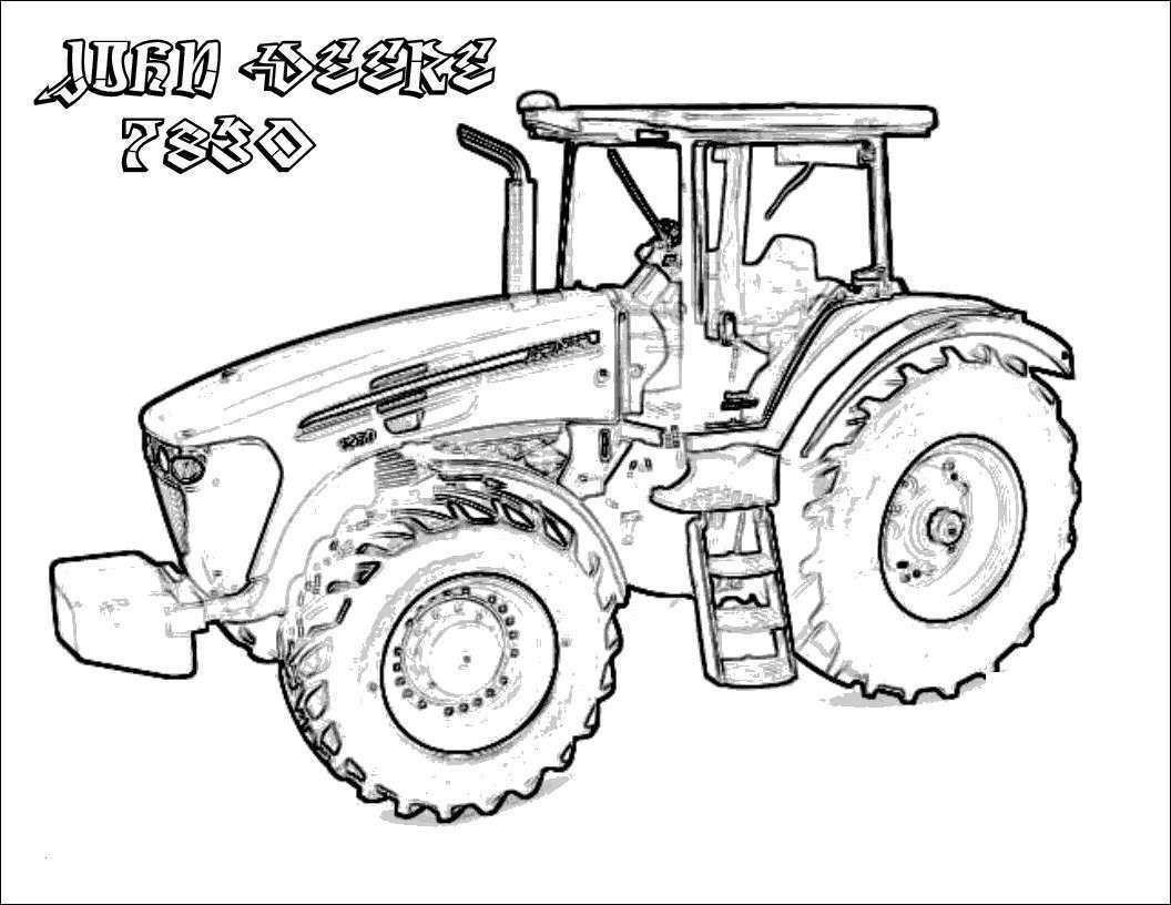 John Deere Ausmalbilder Einzigartig Fendt Traktor Malvorlage Bild John Deere Tractor Coloring Page Das Bild