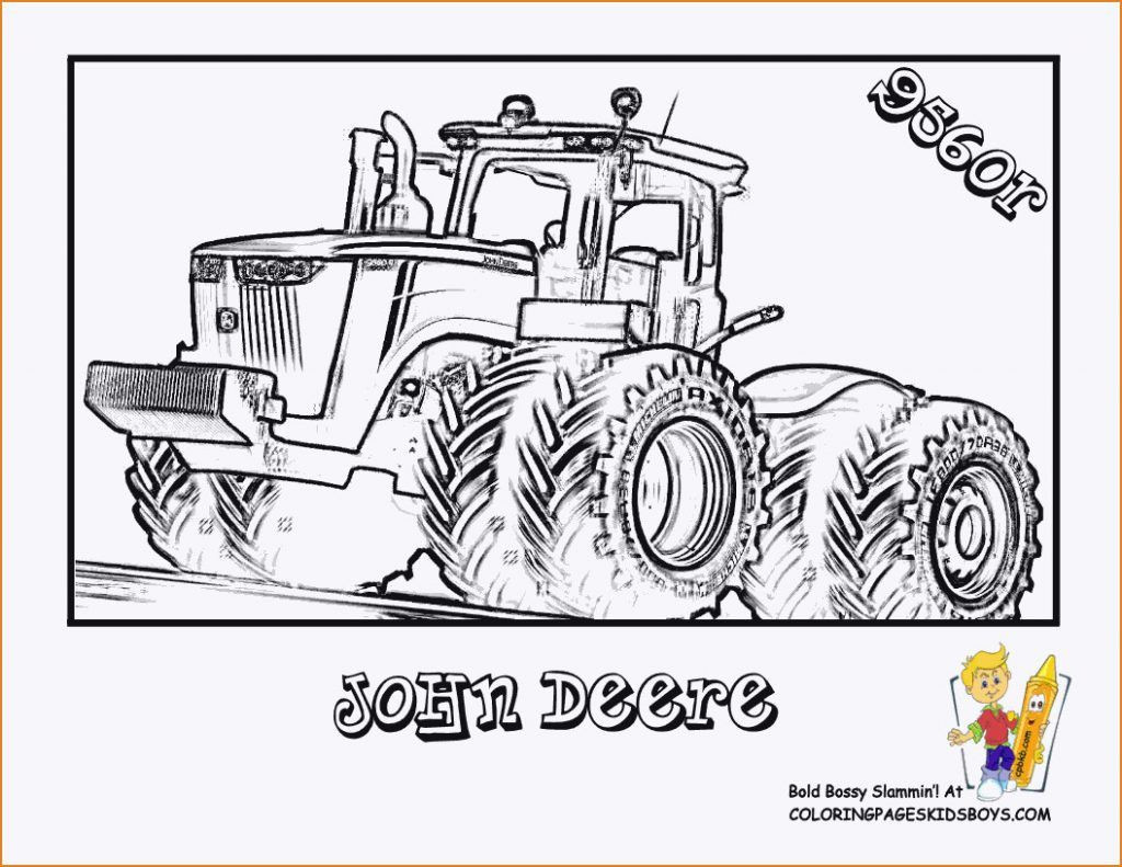 John Deere Ausmalbilder Inspirierend Traktor 3 Malvorlagen Stock