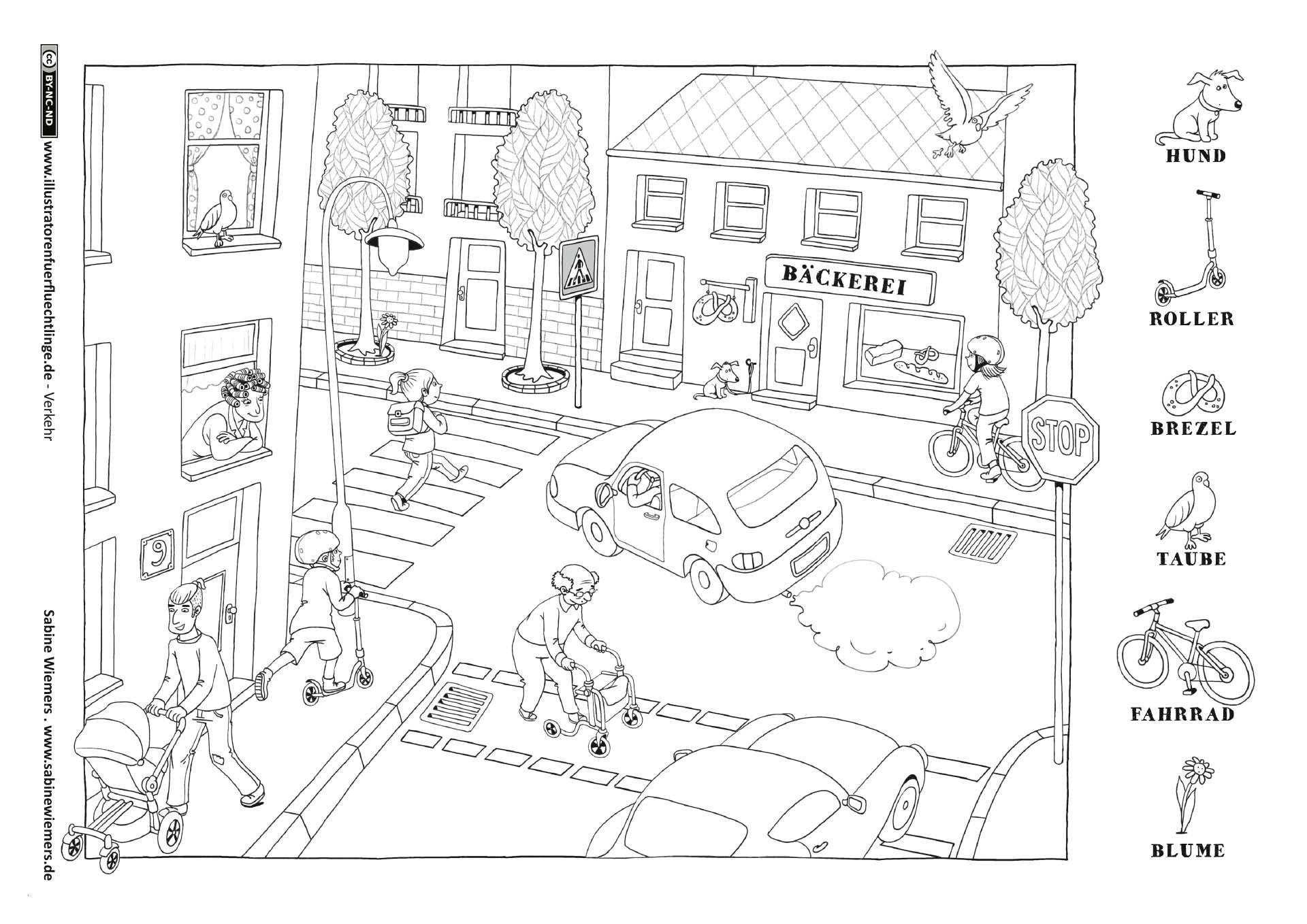 Kleeblatt Zum Ausmalen Inspirierend Kindergarten Bilder Zum Ausmalen Große 35 Verkehrserziehung Stock