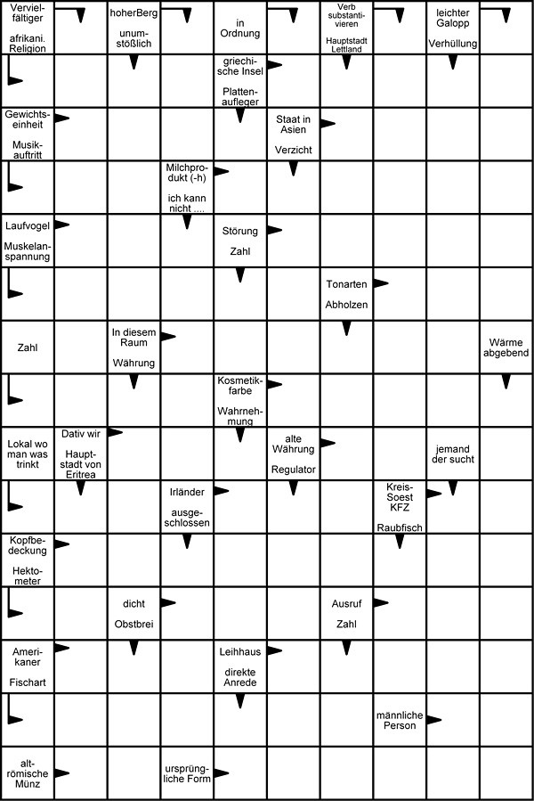 Wortsuchrätsel Zum Ausdrucken Frisch Kreuzwortraetsel Zum Ausdrucken Kostenlos Vorlage Sammlung