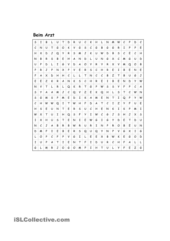 Wortsuchrätsel Zum Ausdrucken Genial Beim Arzt Wortsuchrätsel Fotografieren