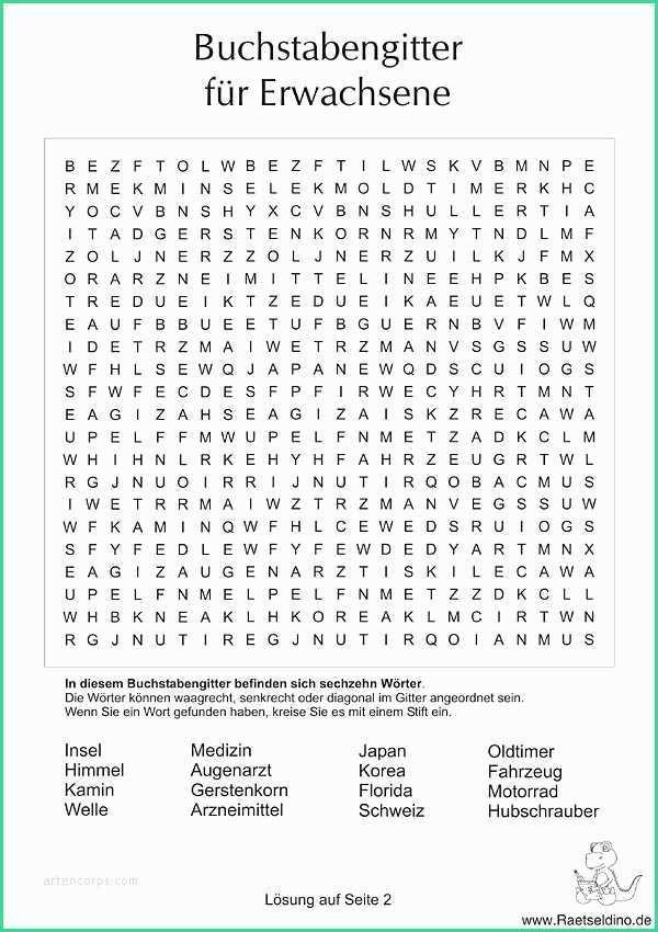 Wortsuchrätsel Zum Ausdrucken Inspirierend Lustige Rätsel Für Kinder Unique Buchstabengitter Für Fotografieren