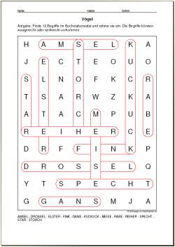 Wortsuchrätsel Zum Ausdrucken Inspirierend Suchworträtsel Für Ihren Unterricht Wortsuchrätsel Bilder