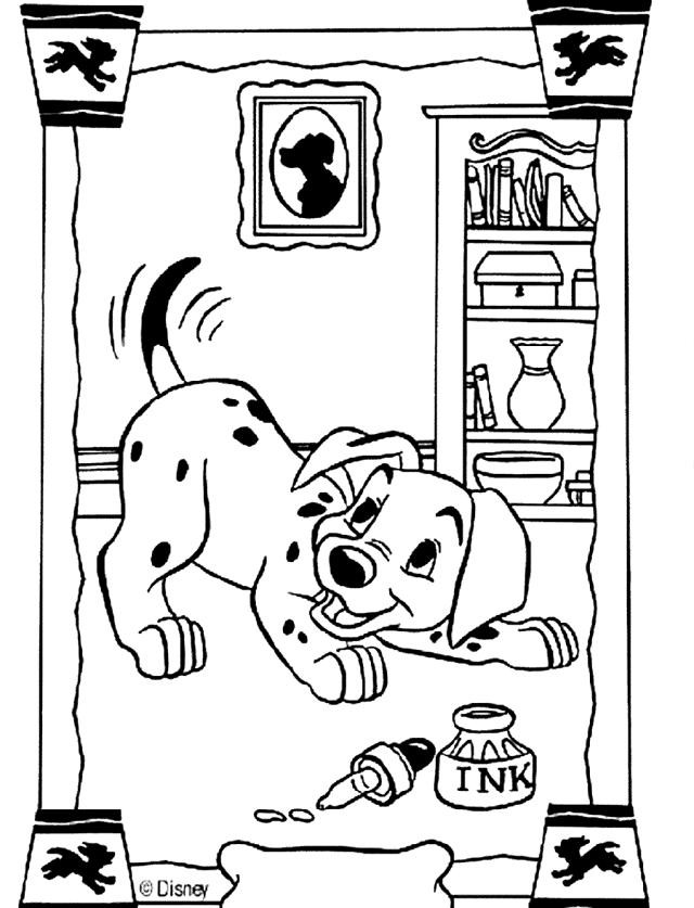 Ausmalbilder 101 Dalmatiner Einzigartig Coloring Pages for Disney 650 650 59 Free Owl Coloring Fotografieren