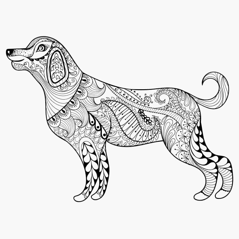 Ausmalbilder 101 Dalmatiner Genial Hunde Bilder Zum Ausmalen Und Ausdrucken Kostenlos Stock
