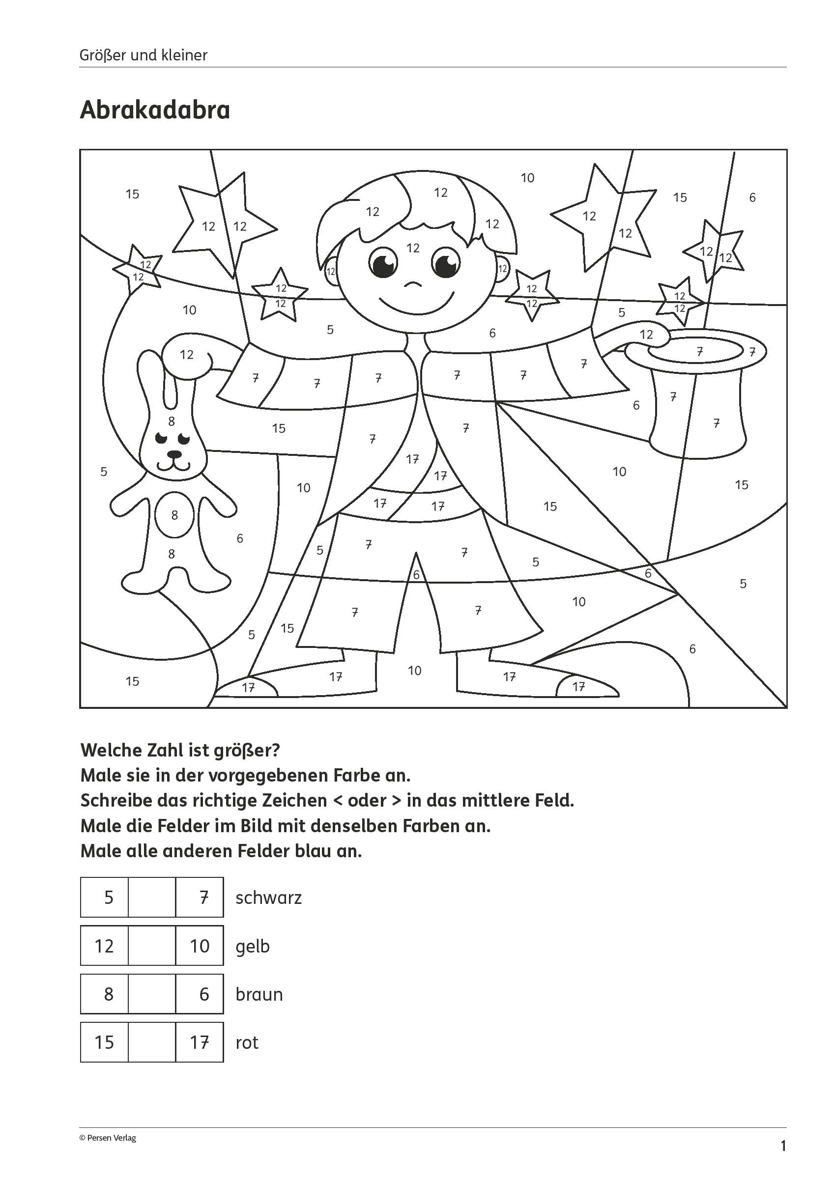Ausmalbilder 2. Klasse Frisch Grundschule Unterrichtsmaterial Mathematik Galerie