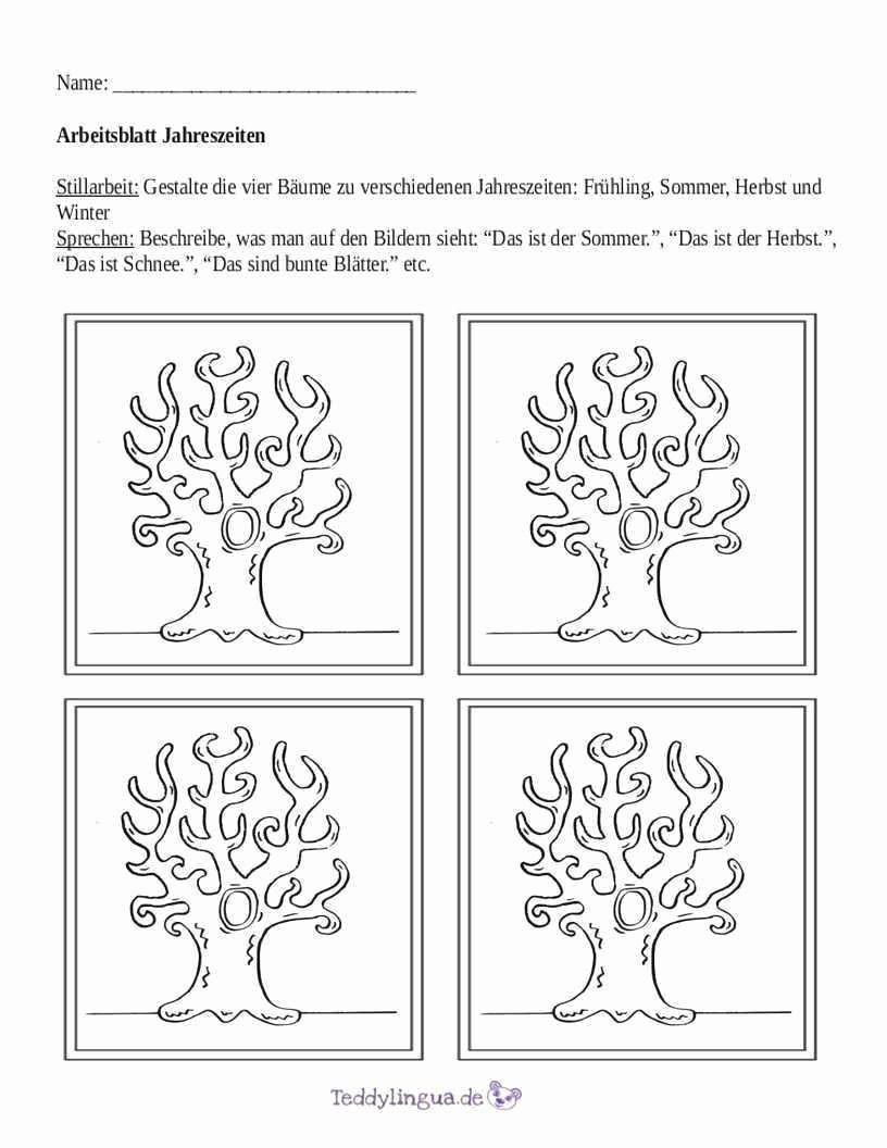 Ausmalbilder 4 Jahreszeiten Das Beste Von 38 Neu Von Baum Zum Ausmalen Bild