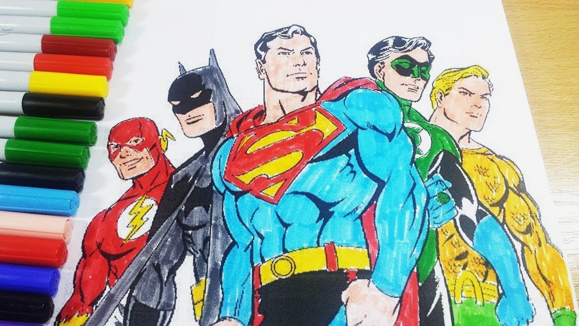 Ausmalbilder Batman Neu Justice League Coloring Pages to Print Fresh Coloriage Sammlung