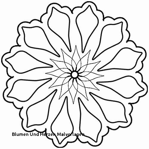 Ausmalbilder Blumen Einzigartig 41 Blumen Vorlagen Zum