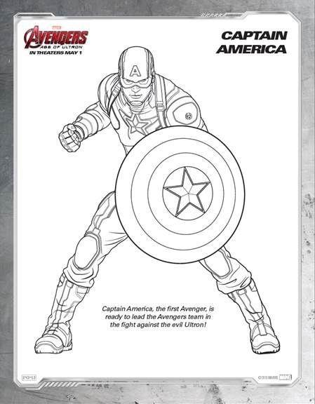 Ausmalbilder Captain America Inspirierend Elegant Lego Age Ultron Coloring Pages – Kursknews Fotografieren