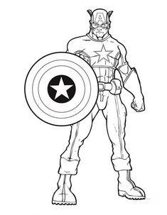 Ausmalbilder Captain America Neu 18 Best Captan Amerika Ausmalbilder Images In 2019 Fotos