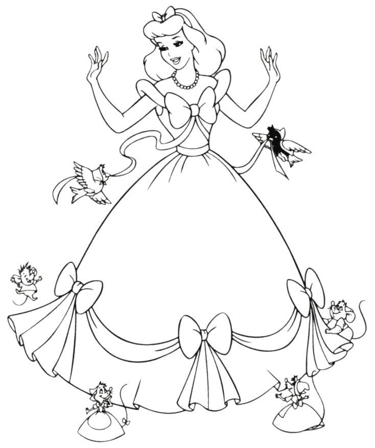 Ausmalbilder Cinderella Einzigartig Cinderella Ausmalbild Einzigartig Best Cinderella Coloring Bilder