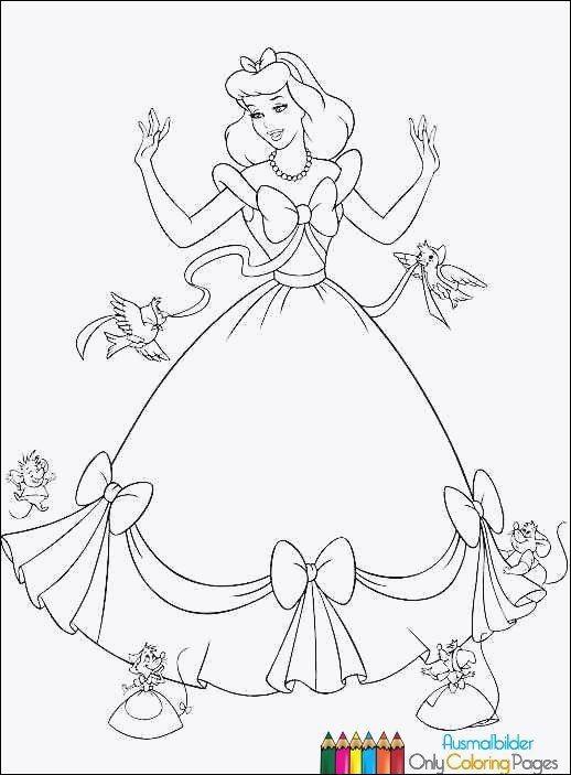 Ausmalbilder Cinderella Inspirierend Cinderella Ausmalbild Schön Malvorlage Prinzessin Cinderella Bilder