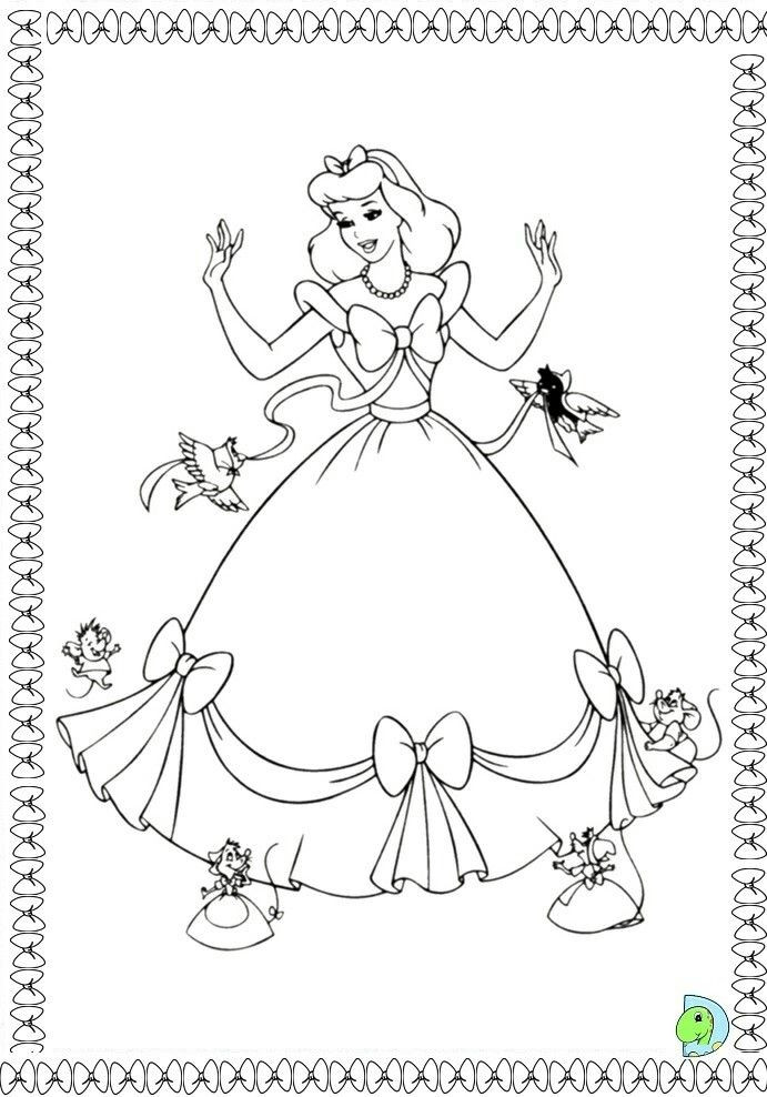 Ausmalbilder Cinderella Inspirierend Pin Od Renata Na Disney Coloring Pages Bild