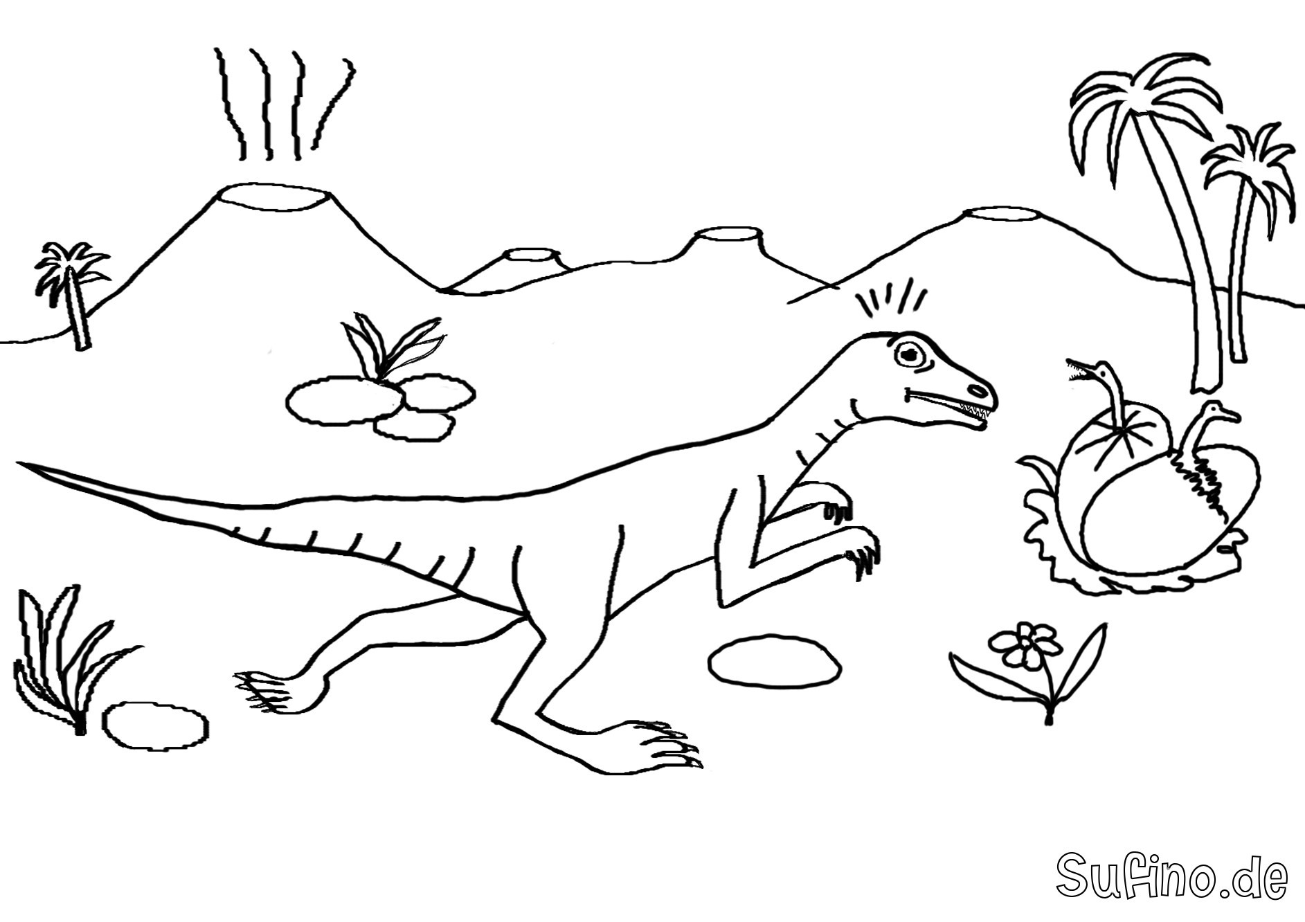 Ausmalbilder Dinosaurier Genial Dinosaurier Malvorlagen