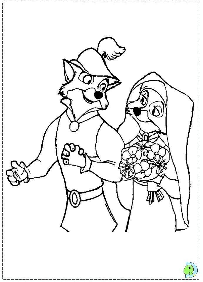 Ausmalbilder Disney Das Beste Von Malvorlage Robin Hood Und Prinzessin Bild