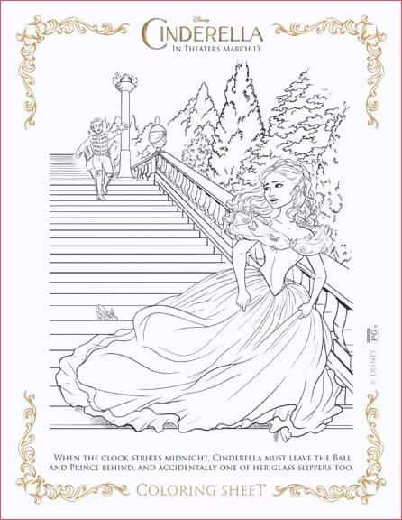 Ausmalbilder Disney Gratis Einzigartig Ausmalbilder Cinderella Of Coloring Pages for Adults Disney Sammlung