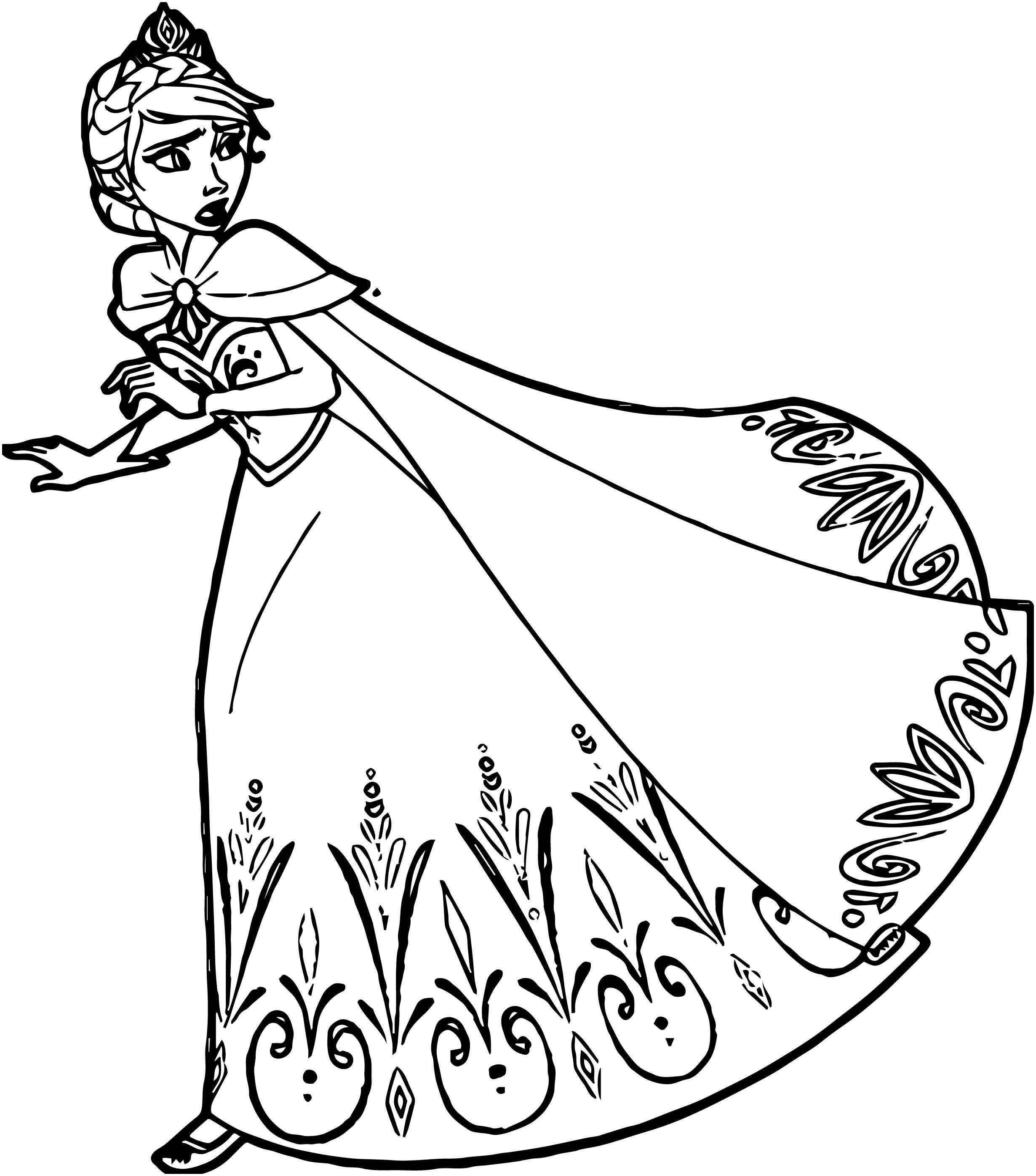 Ausmalbilder Disney Gratis Neu Princess Elsa Coloring Pages Beautiful Elsa Coloring Pages Fotos