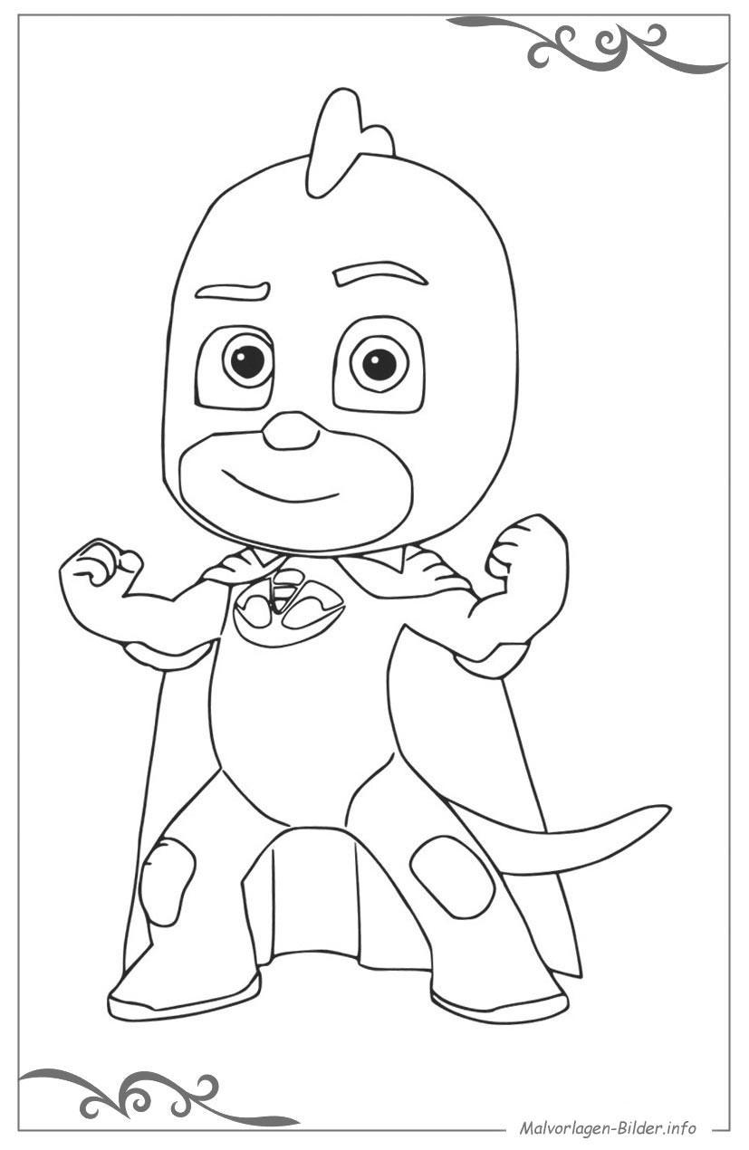 Ausmalbilder Disney Junior Das Beste Von 47 Pj Masks Ausmalbilder Das Bild