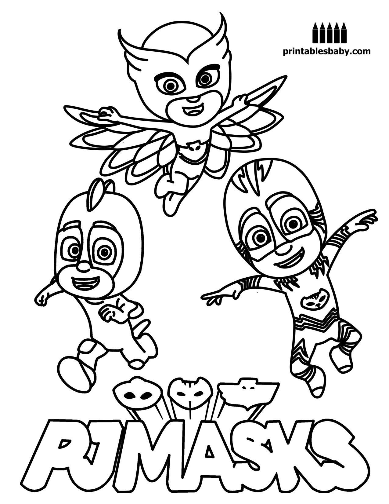Ausmalbilder Disney Junior Inspirierend 47 Pj Masks Ausmalbilder Das Bild