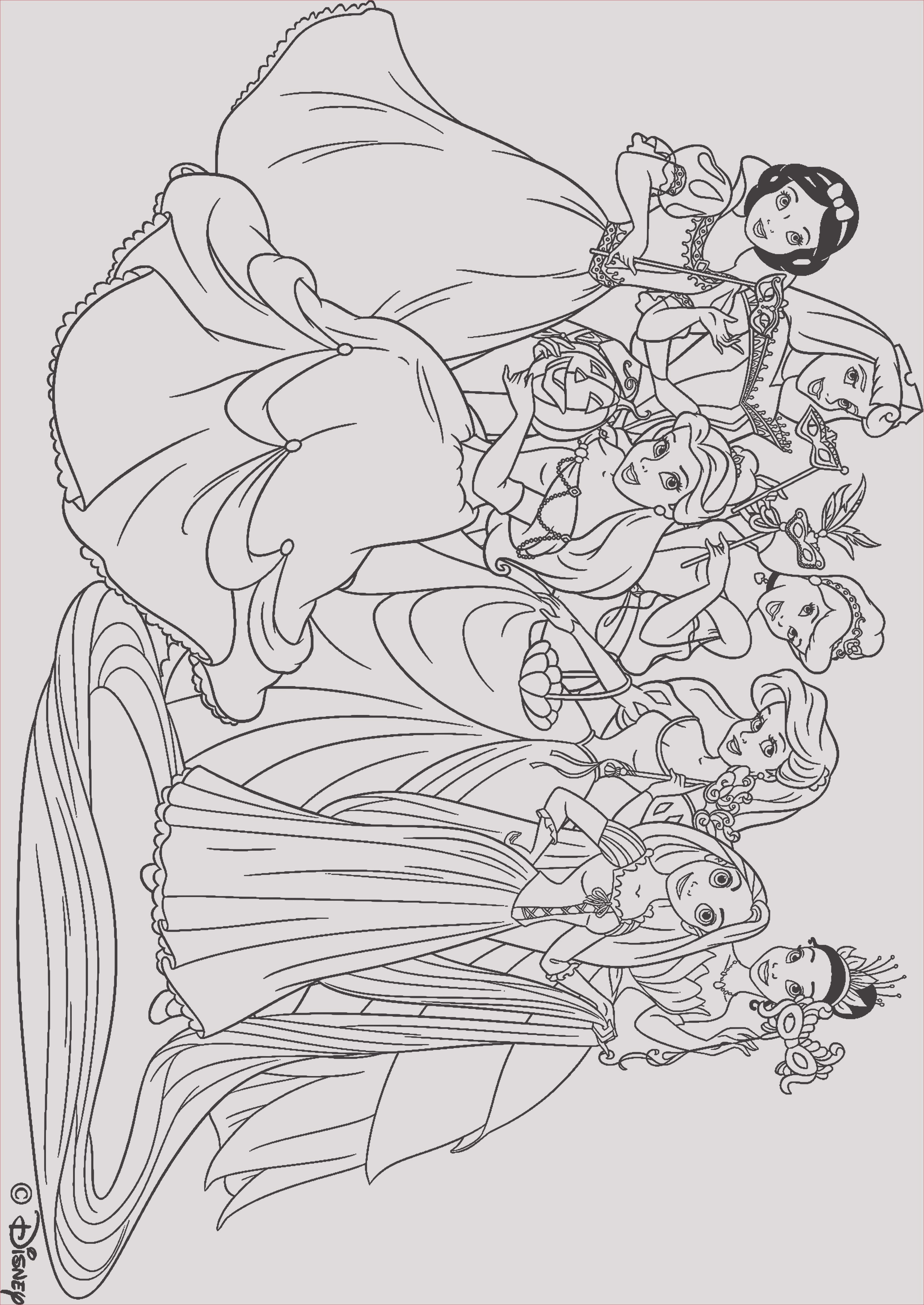 Ausmalbilder Disney Kostenlos Neu 30 Neu Disney Prinzessinnen Ausmalbilder Neuste Galerie
