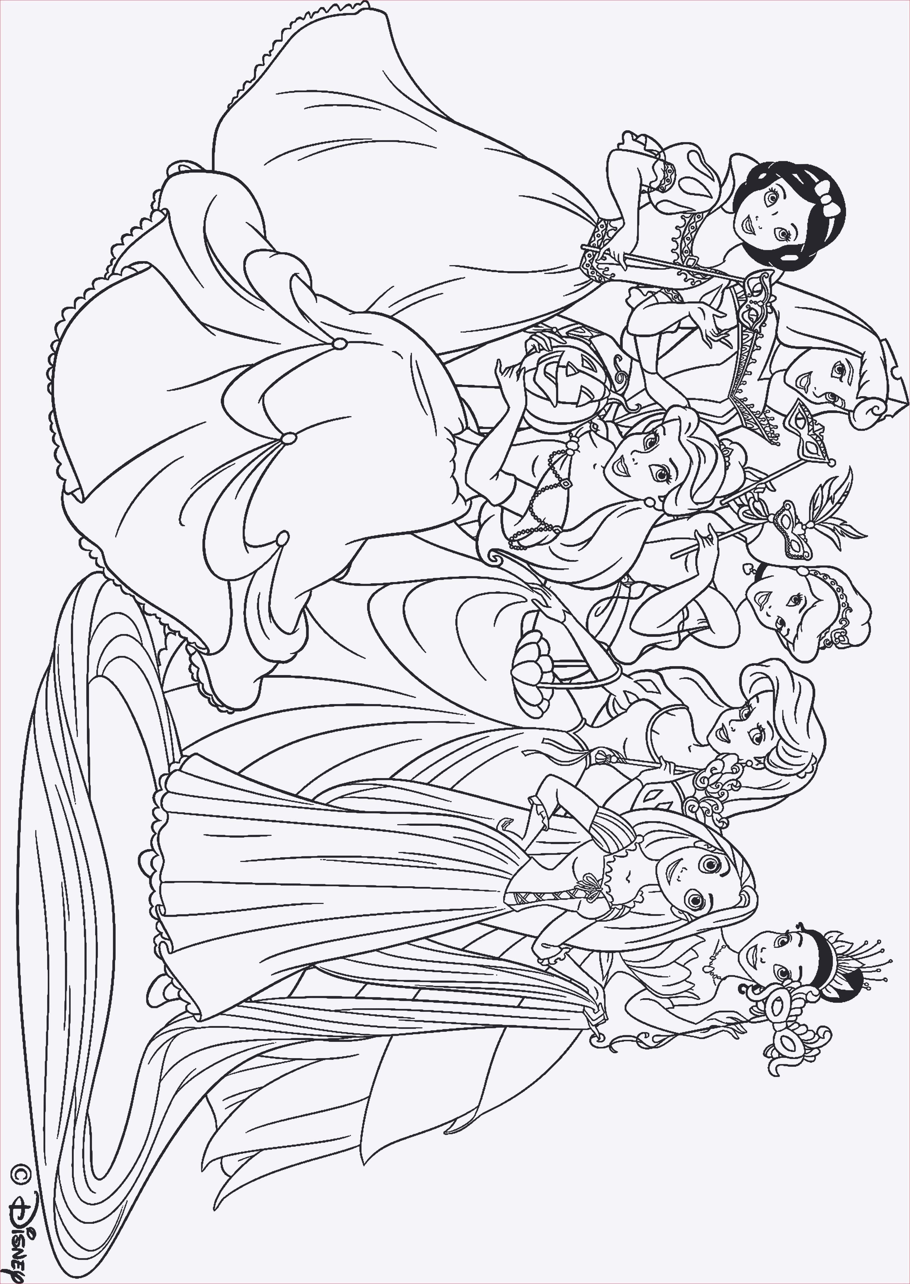 90 Genial Ausmalbilder Disney Prinzessinnen Ariel Galerie