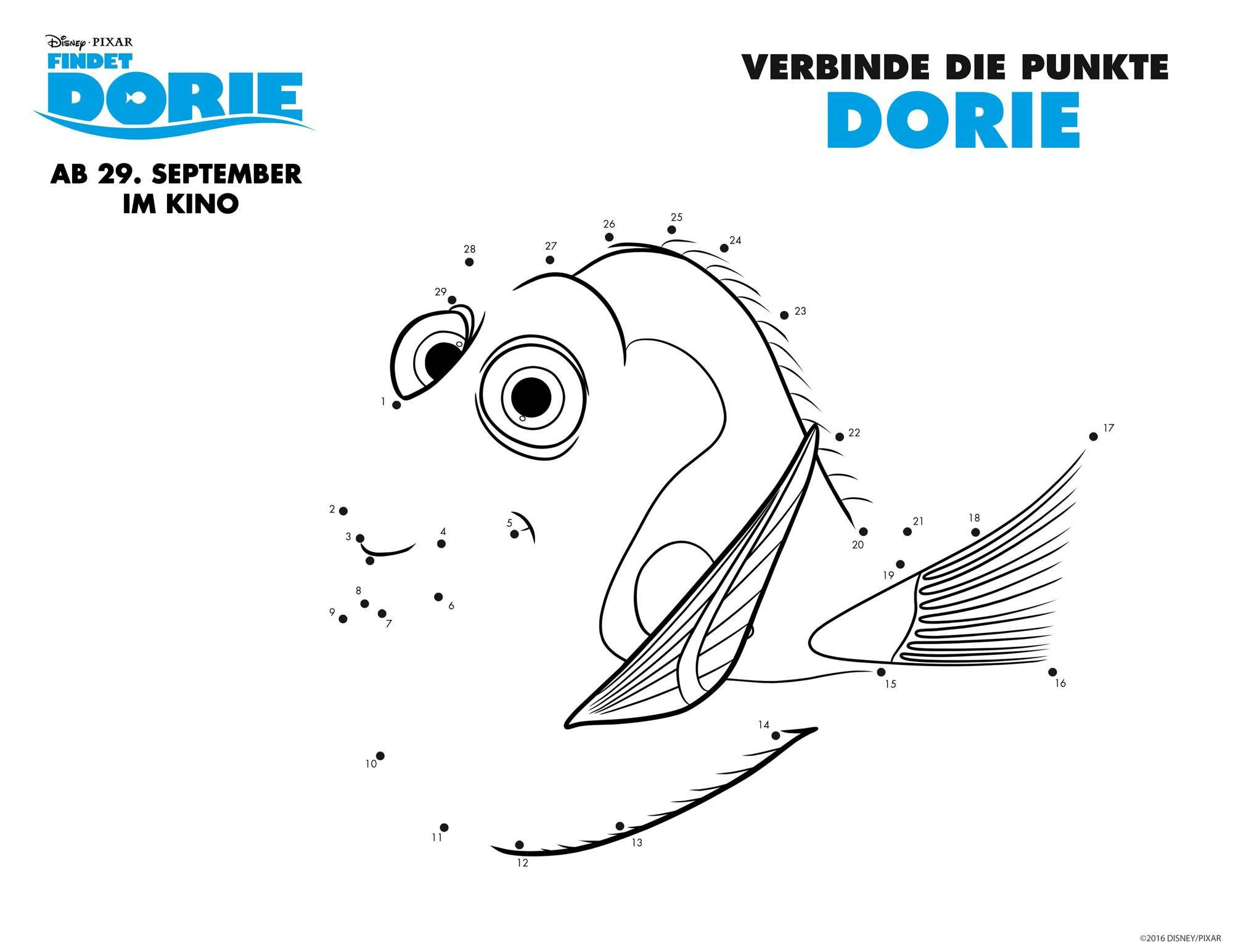 Ausmalbilder Disney Zum Ausdrucken Inspirierend Ausmalbild Malen Nach Zahlen Findet Dorie Dorie Kostenlos Fotos