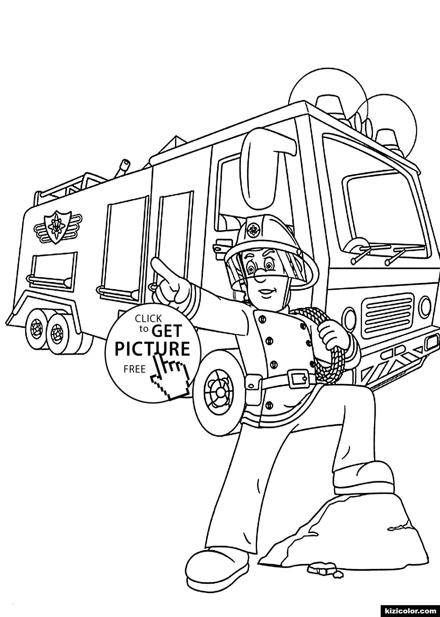 ausmalbilder feuerwehr das beste von disney malvorlage