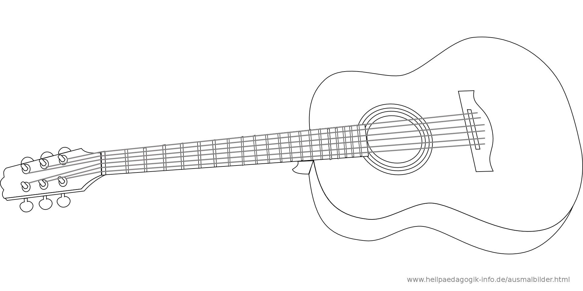 Ausmalbilder Instrumente Frisch Malvorlagen Gitarrist Fotografieren