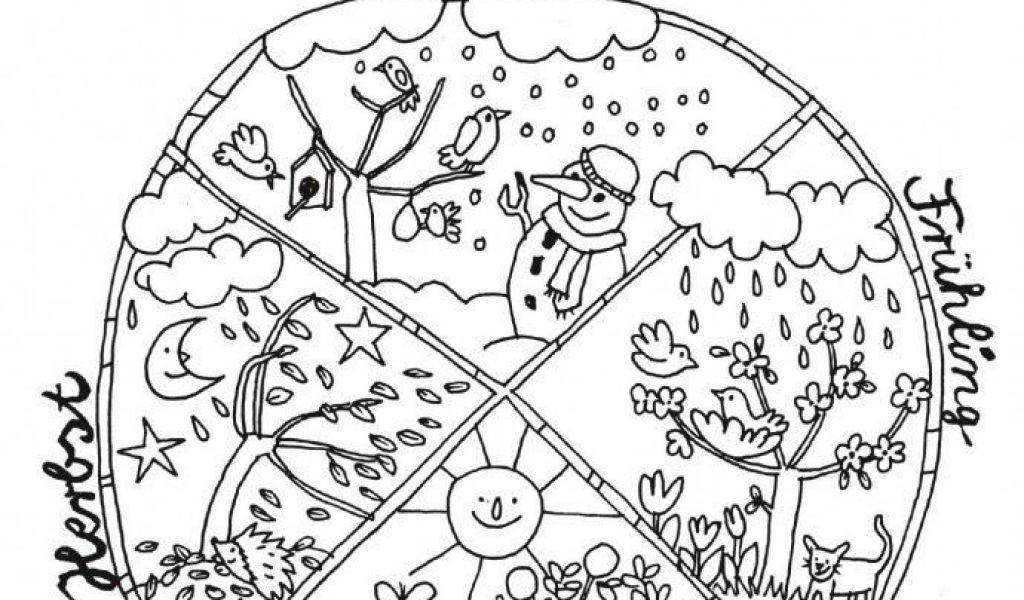 Ausmalbilder Jahreszeiten Das Beste Von Jahresuhr Jahr Kalender Vorlagen Zum Ausmalen Schön Durch Das Sammlung