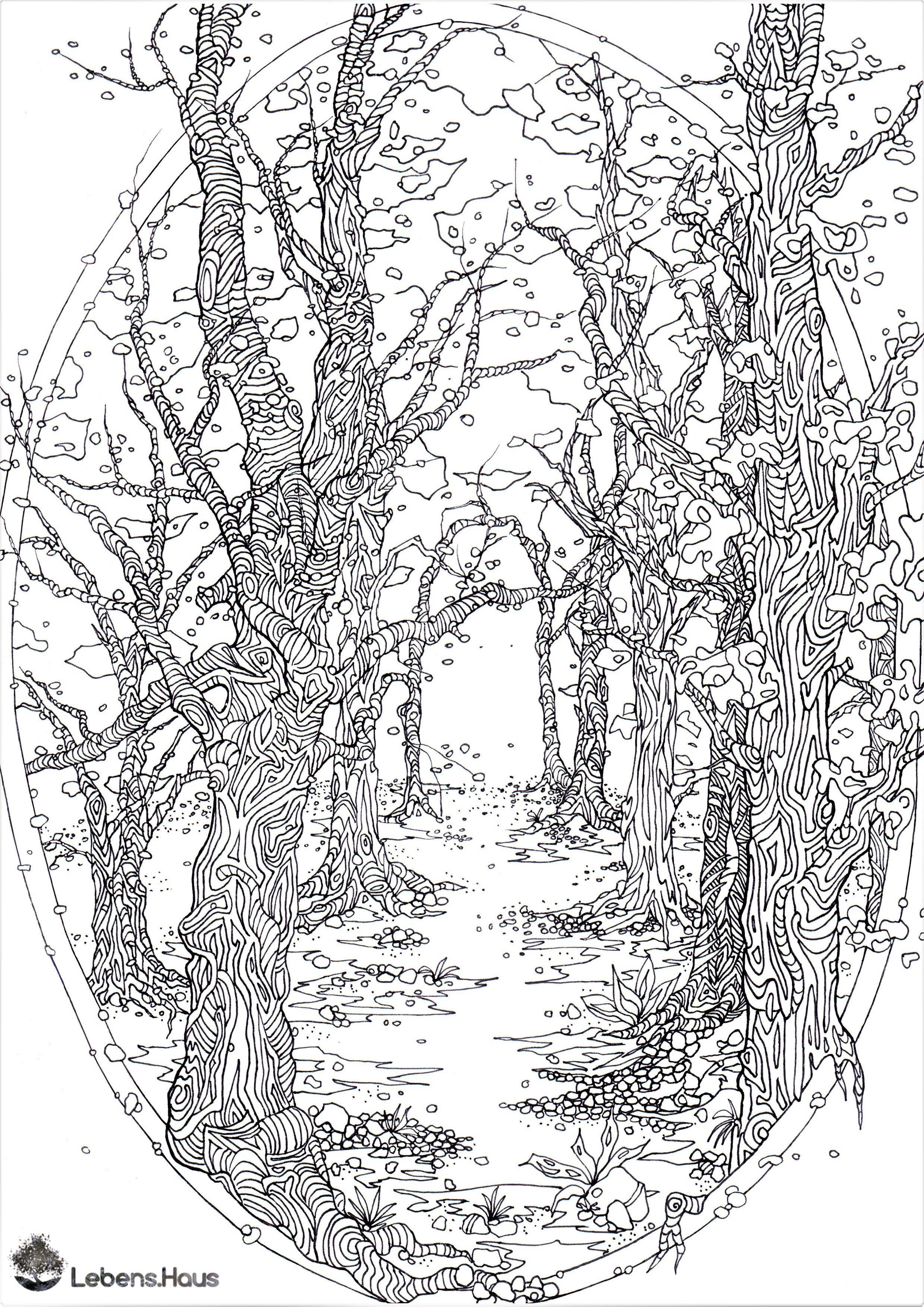 Ausmalbilder Jahreszeiten Frisch 39 Baum Zum Ausmalen Stock