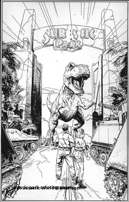 Ausmalbilder Jurassic World Einzigartig Ausmalbilder Jurassic Park 21 Best Ausmalbilder Jurassic Bilder
