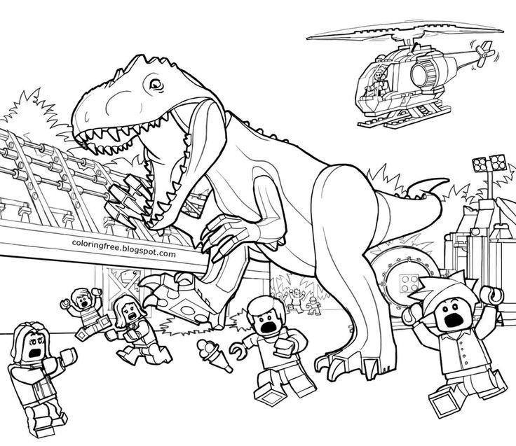 Ausmalbilder Jurassic World Frisch 25 Stylish Tutorial for Jurassic Park Coloring Pages Bilder