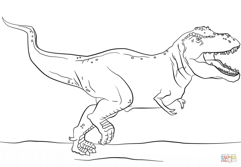 Ausmalbilder Jurassic World Genial Jurassic Park T Rex Coloring Pages Printable Malvorlagen Das Bild