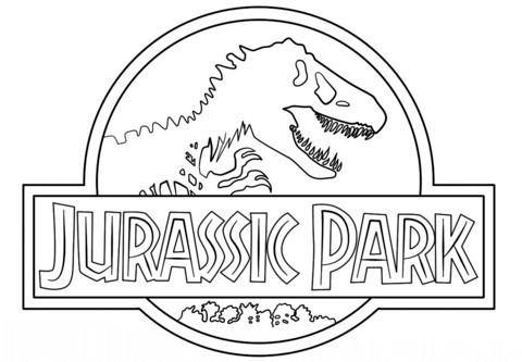 Ausmalbilder Jurassic World Neu Elegant Jurassic Park Logo Coloring Pages – Lovespells Fotos