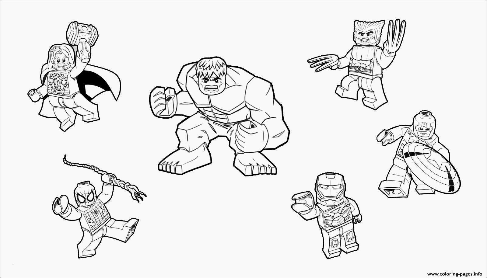 Ausmalbilder Lego Einzigartig Avengers Malvorlage Einfache Malvorlagen Lego Hulk Bilder
