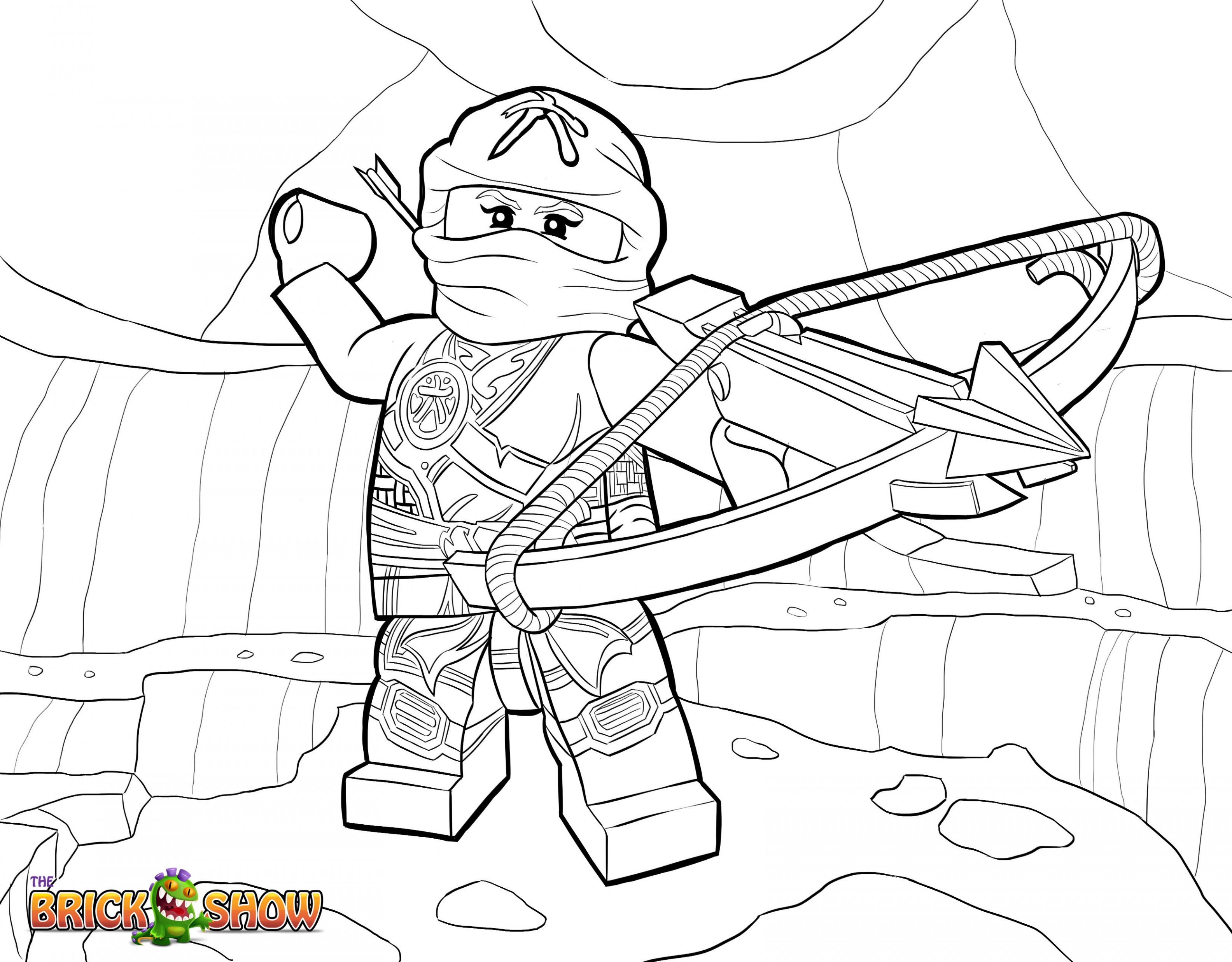Ausmalbilder Lego Einzigartig Ninjago Lloyd Coloring Pages Bild