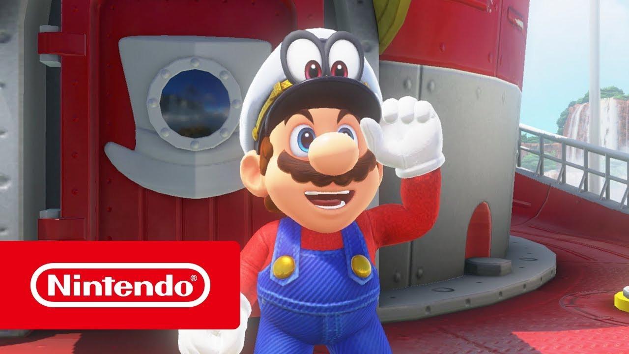 Ausmalbilder Mario Das Beste Von Super Mario Odyssey Perstrailer Nintendo Switch Galerie