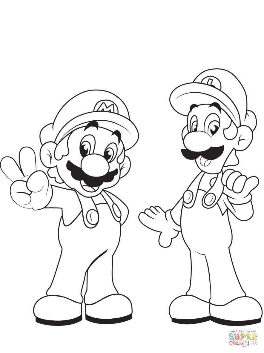 Ausmalbilder Mario Einzigartig Paper Mario and Luigi Coloring Pages Elegant Ausdruckbilder Super Fotos