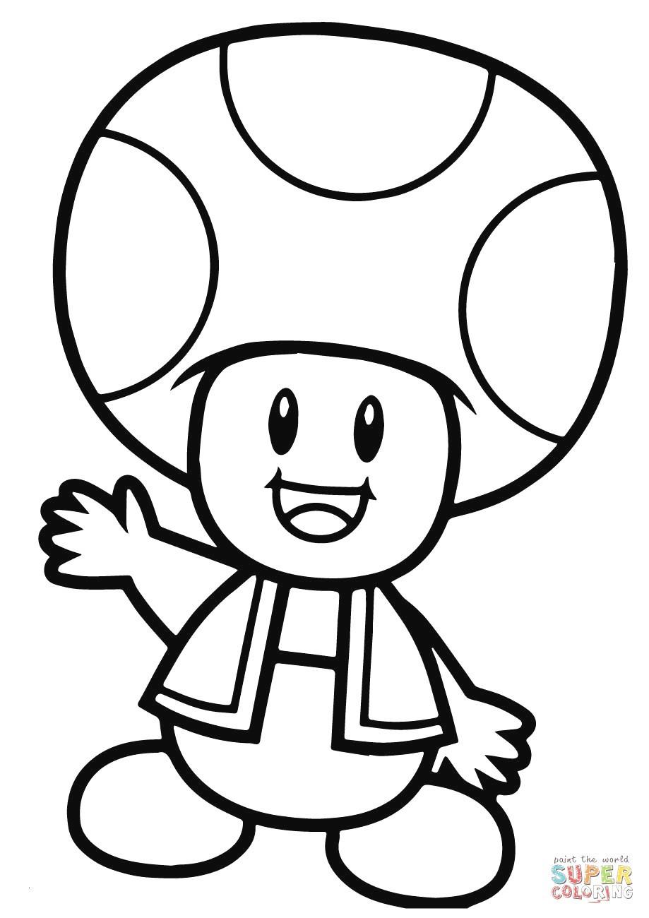 Ausmalbilder Mario Genial Fresh Paper Mario toad Coloring Pages – Kursknews Bild
