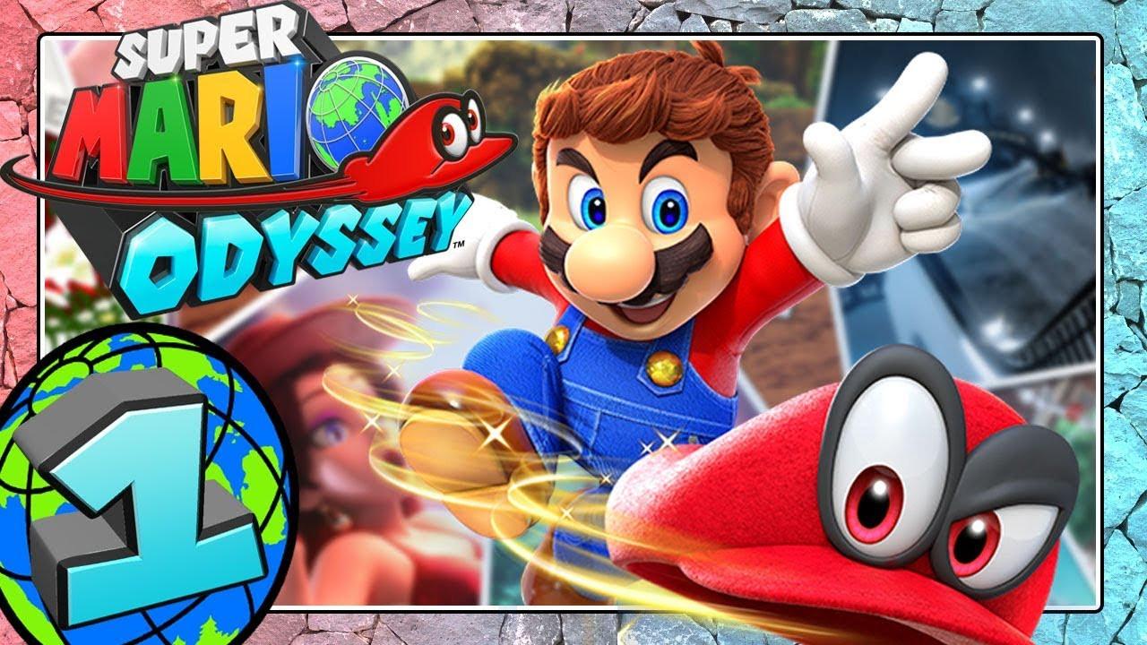 Ausmalbilder Mario Genial Super Mario Odyssey Part 1 World Travel with Mario Bilder