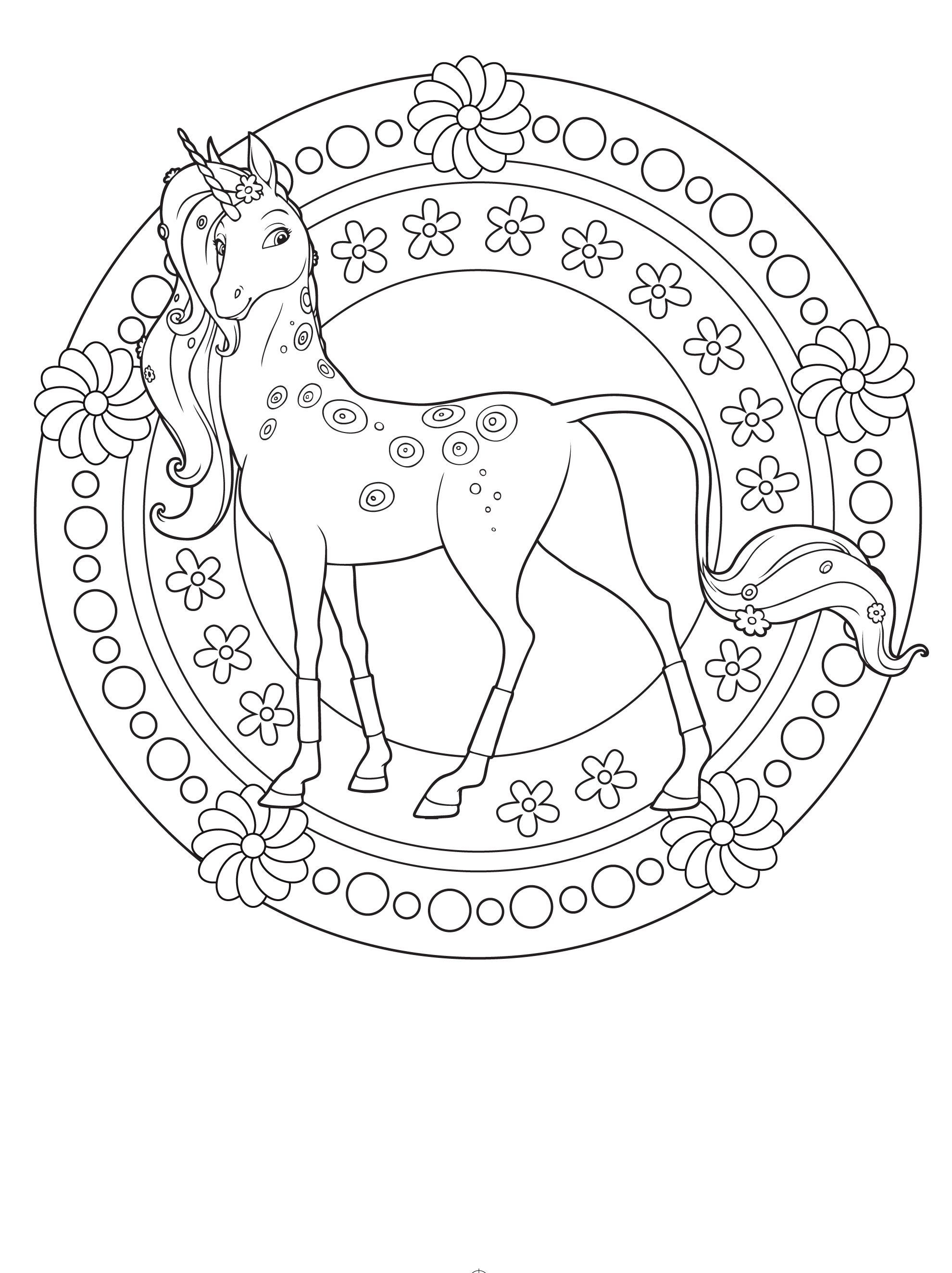 Ausmalbilder Mia and Me Genial Coloring Pages Gallery Unicorn Coloring Pages for Children Book Bild